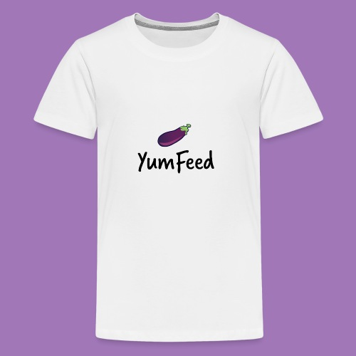 YumFeed logo - Kids' Premium T-Shirt