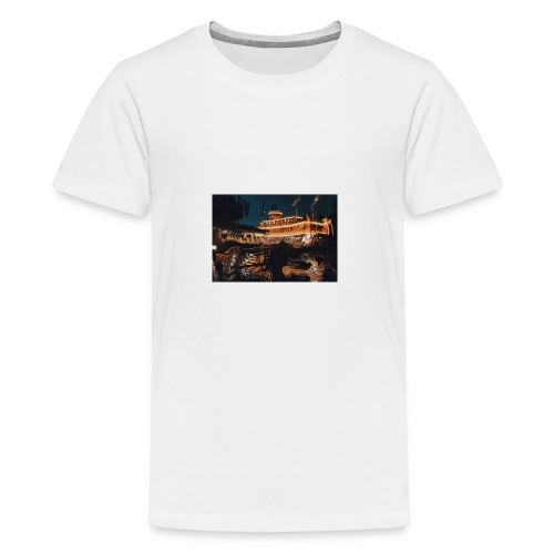 Peaceful Night - Kids' Premium T-Shirt