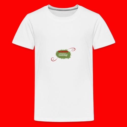 Christmas_is_Coming - Kids' Premium T-Shirt