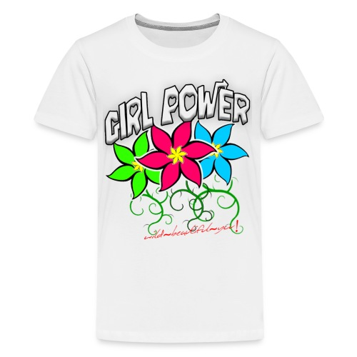 Girl Power: Lotus Flowers - Kids' Premium T-Shirt