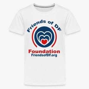 Friends of DF Foundation shirt - Kids' Premium T-Shirt