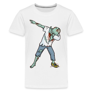 Halloween T shirt Funny Zombie Dab Hip Hop Pre - Kids' Premium T-Shirt