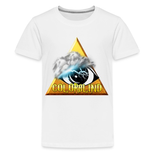 COLORBLIND - The Storm - Kids' Premium T-Shirt