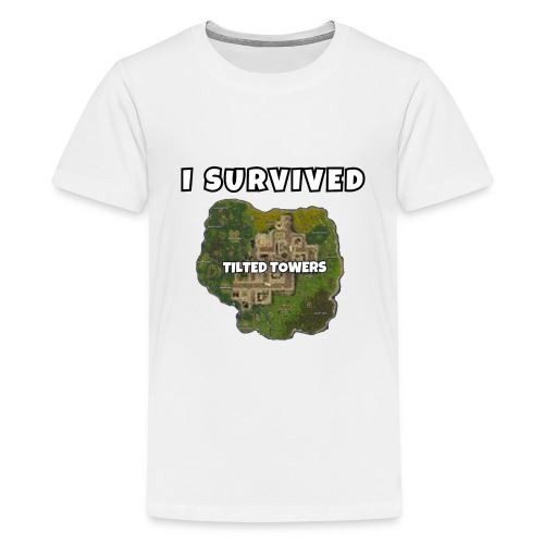 I SURVIVED TILTED TOWERS - Kids' Premium T-Shirt