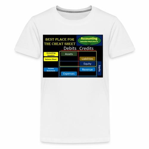 Cheat Sheet - Kids' Premium T-Shirt