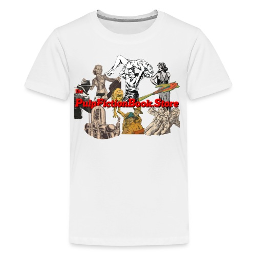 The Pulp Fiction Book Store full logo - Kids' Premium T-Shirt