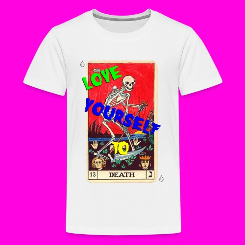 LOVE YOURSELF TO DEATH - Kids' Premium T-Shirt