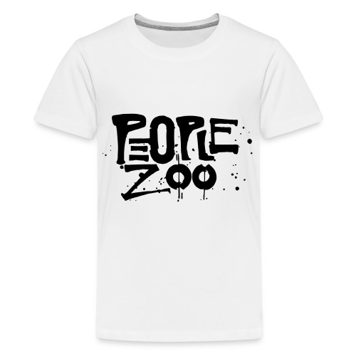 People Zoo Design 1 - Kids' Premium T-Shirt