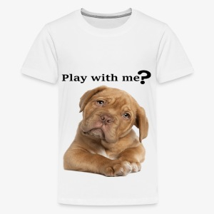 Play with me ? T-shirt cute - Kids' Premium T-Shirt