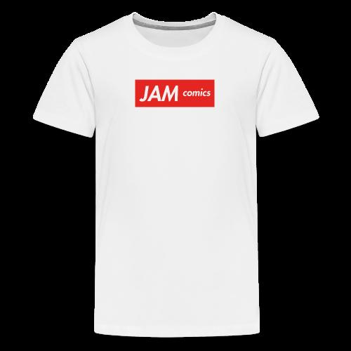 JAM comics logo (Supreme Style) - Kids' Premium T-Shirt