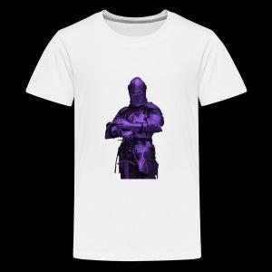 purple knight - Kids' Premium T-Shirt