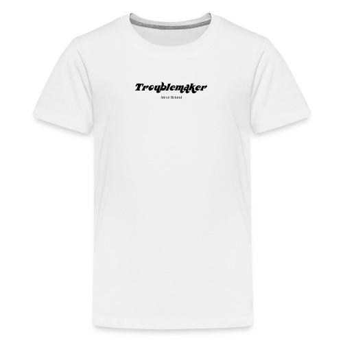 Troublemaker (black) - Kids' Premium T-Shirt