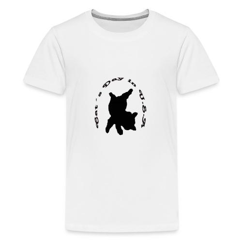 Cat´s Day in USA - Kids' Premium T-Shirt