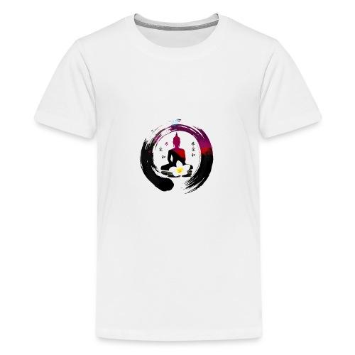 ZEN YOGA MEDITATION BUDDHA - Kids' Premium T-Shirt