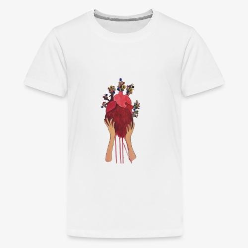open your heart - Kids' Premium T-Shirt