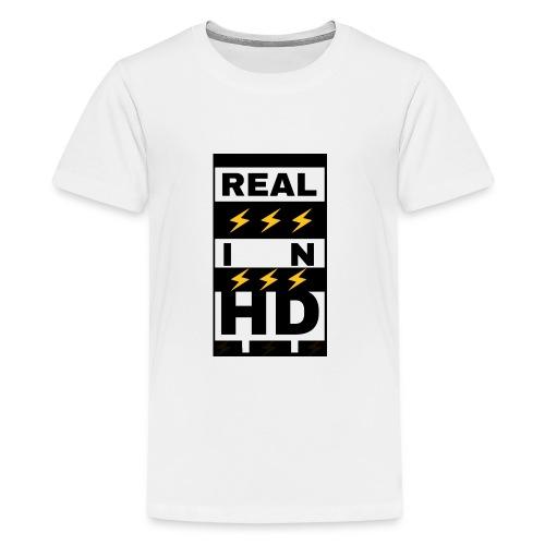 Real In HD - Kids' Premium T-Shirt