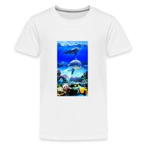 Dolphins world - Kids' Premium T-Shirt