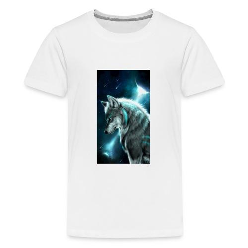 wolf f6a2f6ae df4e 3577 950c 689e0f4dd2d0 - Kids' Premium T-Shirt