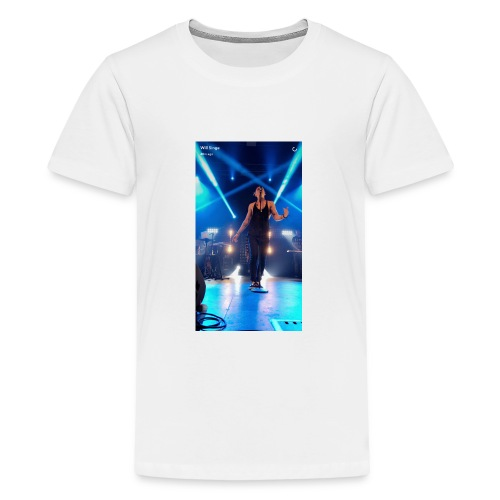 William singe on stage - Kids' Premium T-Shirt