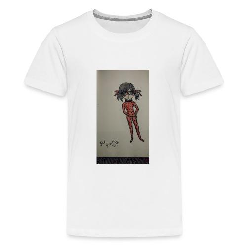 Anime lady bug design - Kids' Premium T-Shirt