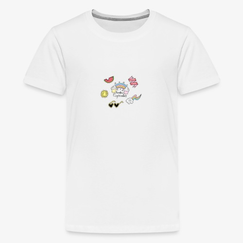 nice love logo - Kids' Premium T-Shirt
