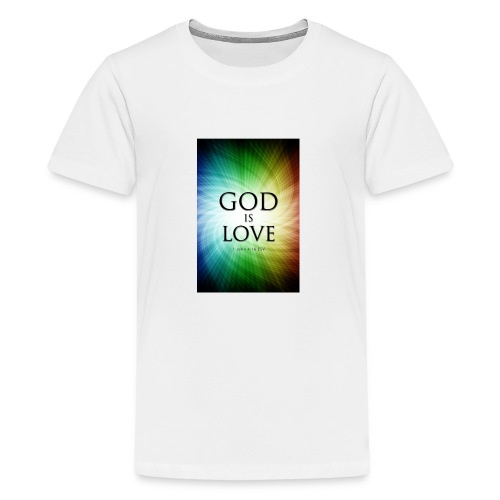 God Is Love - Kids' Premium T-Shirt