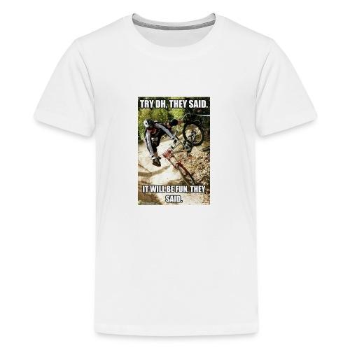 Bike meme on your shirt - Kids' Premium T-Shirt