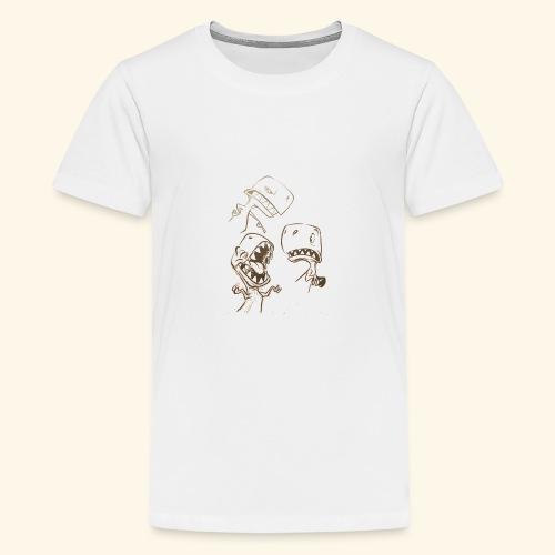 Crazy Dino - Kids' Premium T-Shirt
