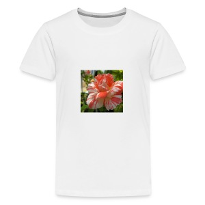 Pink and white rose seeds mixed rare flower - Kids' Premium T-Shirt