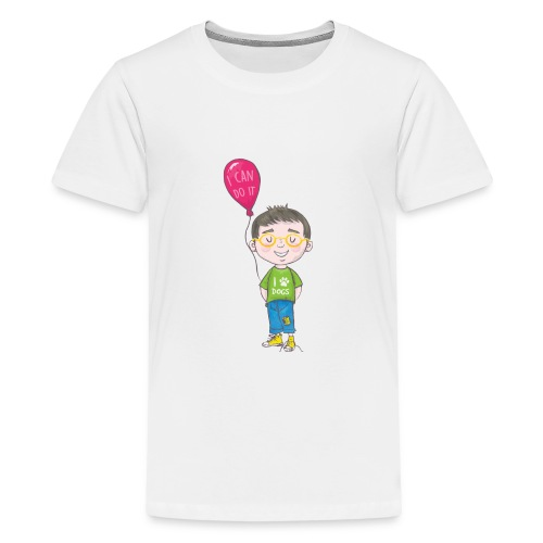 Noah Knots Not from The Invisible Hat Series - Kids' Premium T-Shirt
