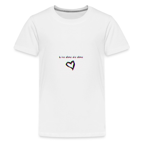 Lil Manny Live Alone Die Alone - Kids' Premium T-Shirt