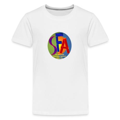 The Spirit Field Adventures: Spark By: Adam Hitz - Kids' Premium T-Shirt