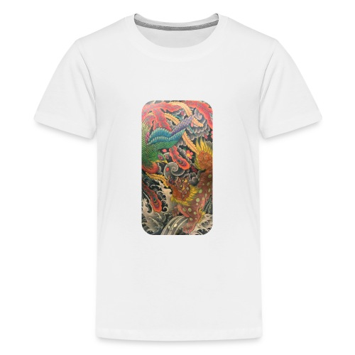 Japanese art - Kids' Premium T-Shirt