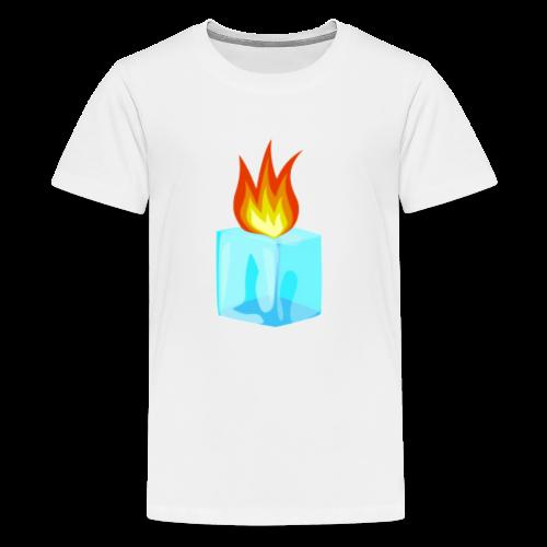 PZKTastic Logo T-Shirt (Get White as the Color) - Kids' Premium T-Shirt