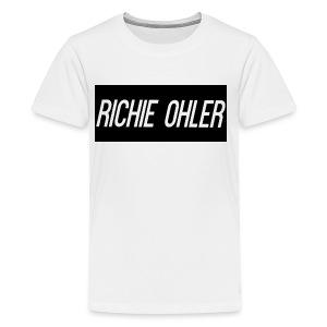 Richie Ohler Shirt Logo - Kids' Premium T-Shirt