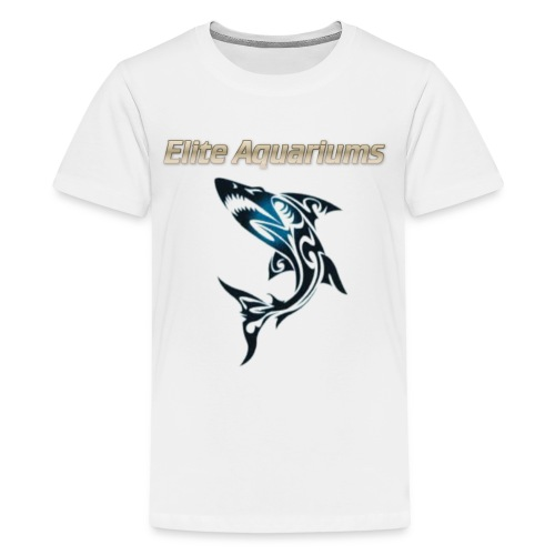 Maori Shark, with Elite Aquariums slogan - Kids' Premium T-Shirt