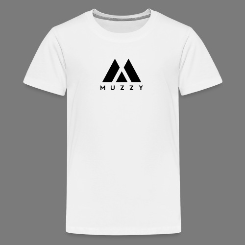 MUZZY Offical Logo Black - Kids' Premium T-Shirt