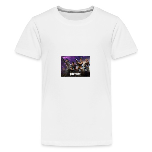 Fortnite 604x423 - Kids' Premium T-Shirt