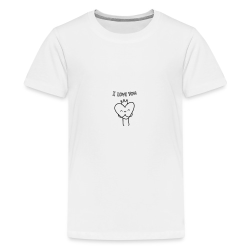 i-love-you shirts an objects - Kids' Premium T-Shirt