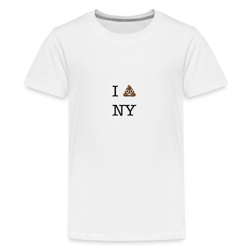 I poop NY - Kids' Premium T-Shirt