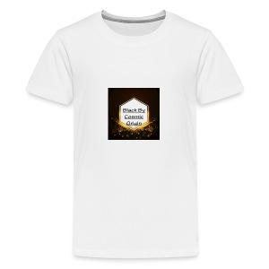 Black By Cosmic Origin - Kids' Premium T-Shirt