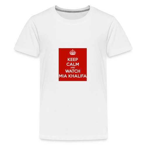 keep-calm-and-watch-mia-khalifa - Kids' Premium T-Shirt