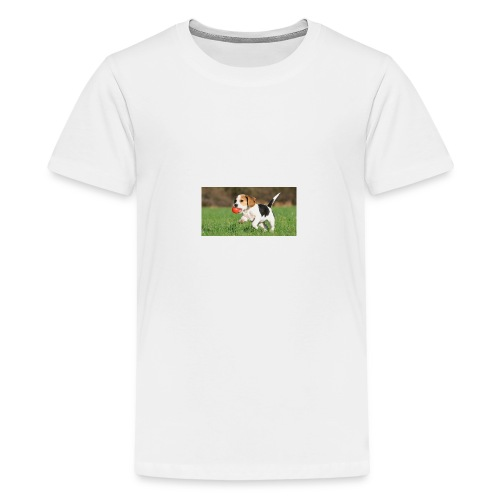 23695 pets vertical store dogs small tile 8 CB312 - Kids' Premium T-Shirt