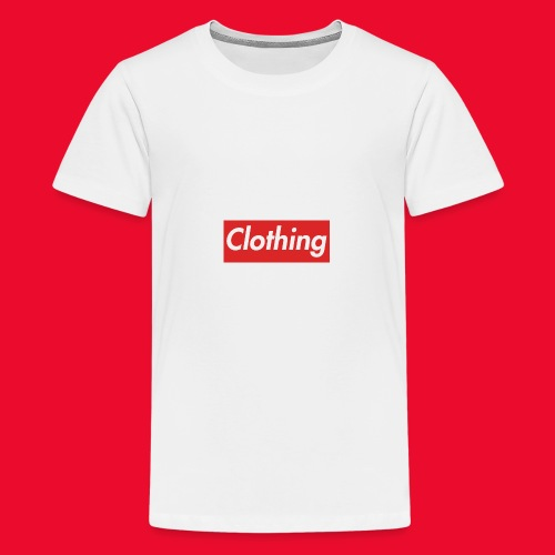 clothing box logo - Kids' Premium T-Shirt
