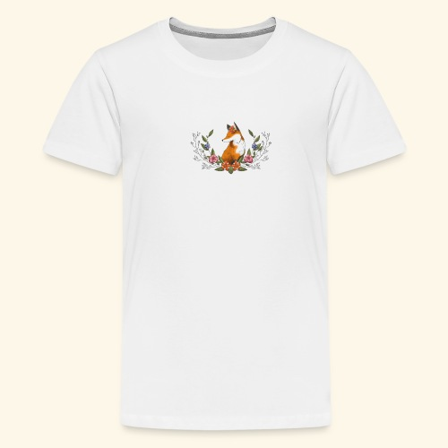 Flowers and Eve - Kids' Premium T-Shirt