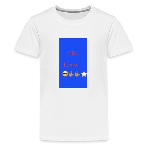 TTG crew - Kids' Premium T-Shirt