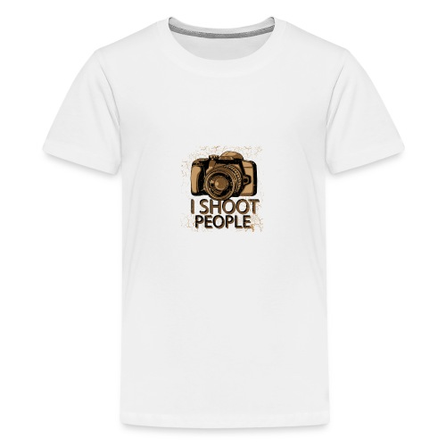 I shoot people - Kids' Premium T-Shirt