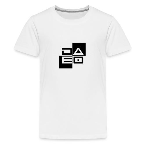 DAE0 logo with pointed edges - Kids' Premium T-Shirt