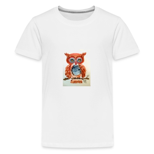 Ruby Woot Owl - Kids' Premium T-Shirt