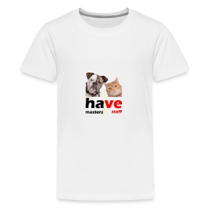 Dog & Cat - Kids' Premium T-Shirt
